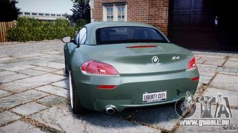 BMW Z4 sDrive35is 2011 v1.0 für GTA 4 hinten links Ansicht