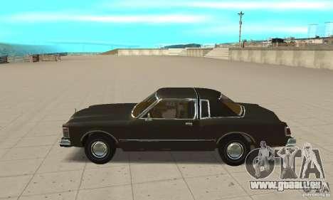 Chrysler Le Baron 1978 für GTA San Andreas linke Ansicht