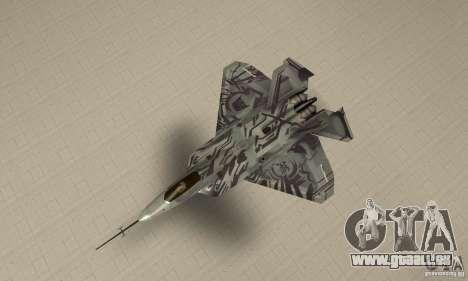 YF-22 Starscream für GTA San Andreas rechten Ansicht