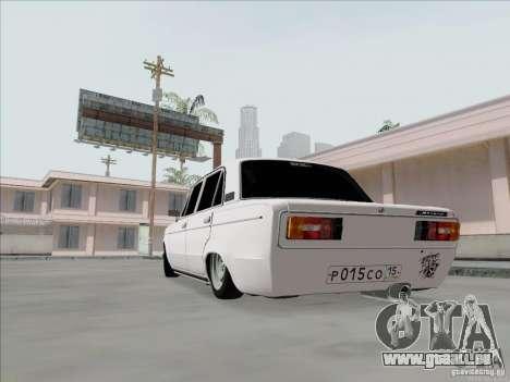 BPAN VAZ 2106 pour GTA San Andreas vue de droite