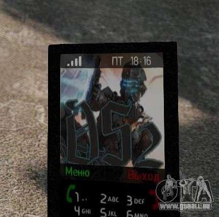 Nouveaux thèmes pour votre téléphone pour GTA 4 troisième écran