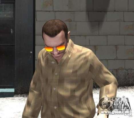Sunnyboy Sunglasses für GTA 4 Sekunden Bildschirm