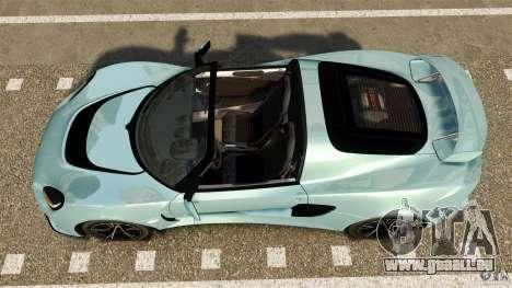 Lotus Exige S 2012 pour GTA 4 est un droit