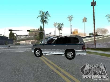 Toyota Land Cruiser 100 VX für GTA San Andreas linke Ansicht