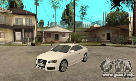 Audi S5 2008 für GTA San Andreas