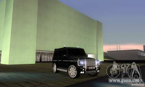 Mercedes Benz G500 ART FBI pour GTA San Andreas