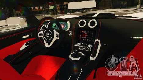 Dodge Viper GTS 2013 pour GTA 4 est un côté