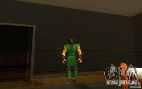 Retro Reptile mk pour GTA San Andreas deuxième écran