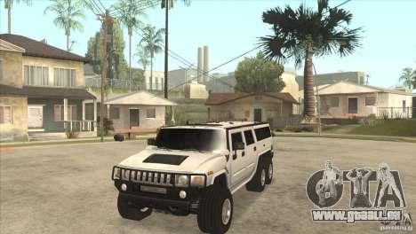 Hummer H6 für GTA San Andreas