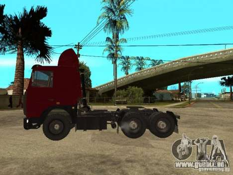 MAZ 642208 für GTA San Andreas linke Ansicht