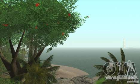 Tropische Insel für GTA San Andreas