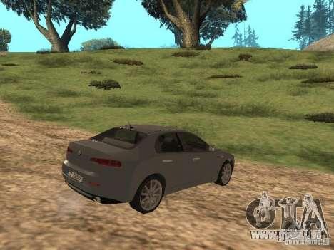Alfa Romeo 159Ti pour GTA San Andreas vue de droite