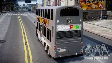 HKBUS Q SIZE für GTA 4 hinten links Ansicht