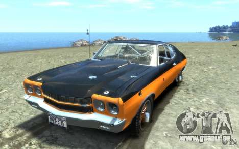 Chevrolet Chevelle SS 1970 pour GTA 4 roues