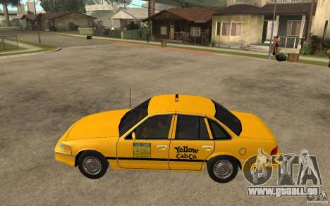 Ford Crown Victoria Taxi 1992 für GTA San Andreas linke Ansicht