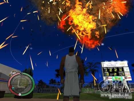 RAIN OF BOXES pour GTA San Andreas huitième écran