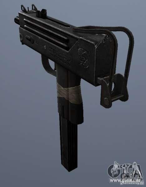 MAC10 pour GTA San Andreas deuxième écran