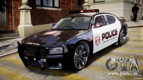 Dodge Charger NYPD Police v1.3 pour GTA 4 est une gauche