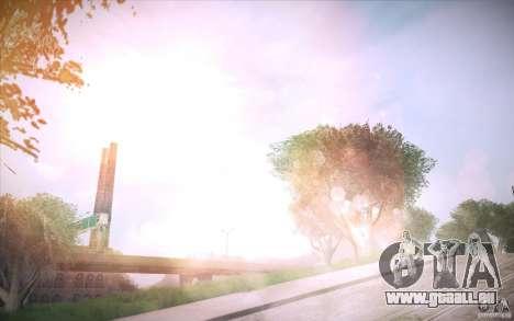 Lensflare 1.1 Final pour GTA San Andreas troisième écran