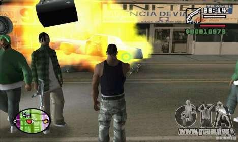 Neue Sicht für GTA San Andreas achten Screenshot