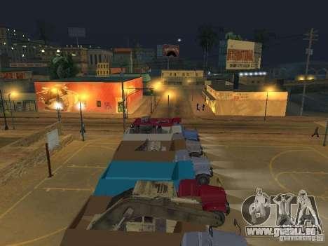 KrAZ-256 b 1-030 pour GTA San Andreas vue de côté