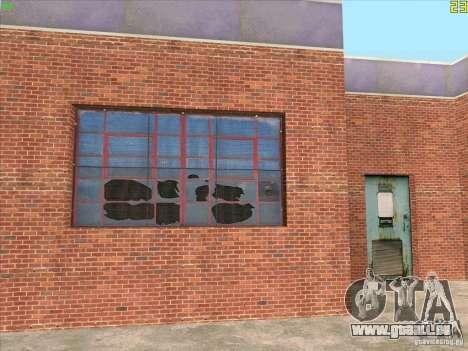 Nouveau garage de Doherty pour GTA San Andreas quatrième écran