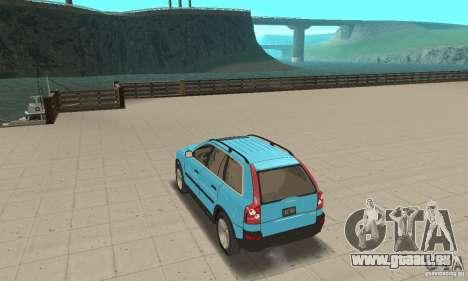 Volvo XC90 für GTA San Andreas zurück linke Ansicht