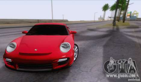 Porsche 911 GT2 pour GTA San Andreas vue intérieure