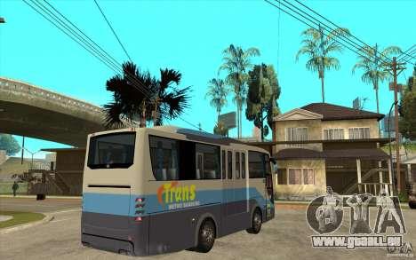 Hino Evo C pour GTA San Andreas vue de droite