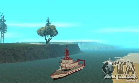 Vice City Ferryboat pour GTA San Andreas