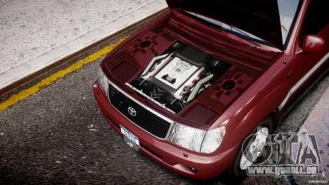 Toyota Land Cruiser 100 Stock pour GTA 4 est un côté