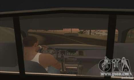 Ford Crown Victoria Iowa Police pour GTA San Andreas sur la vue arrière gauche