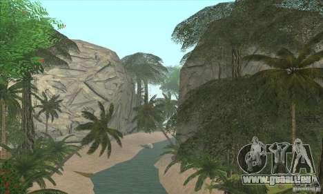 Tropische Insel für GTA San Andreas zweiten Screenshot