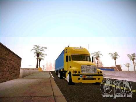 Freightliner Century Classic für GTA San Andreas Rückansicht