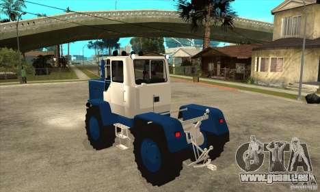 Traktor schneiden für GTA San Andreas zurück linke Ansicht