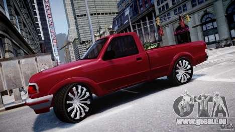 Ford Ranger pour GTA 4 est une gauche