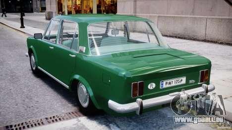 Fiat 125p Polski 1970 pour GTA 4 est un droit