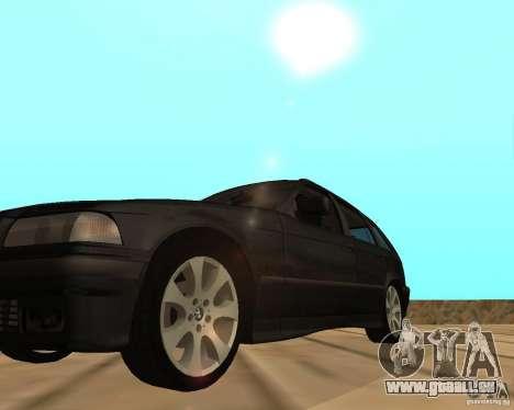 BMW 318i Touring pour GTA San Andreas vue de droite