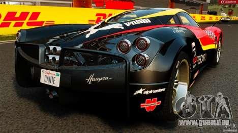 Pagani Huayra 2011 [EPM] pour GTA 4 Vue arrière de la gauche