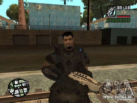 Dominic Santiago de Gears of War 2 pour GTA San Andreas