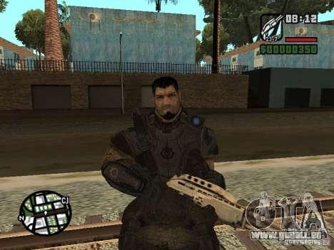 Dominic Santiago de Gears of War 2 pour GTA San Andreas
