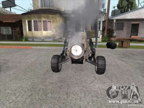 Turbo car v.2.0 für GTA San Andreas Rückansicht