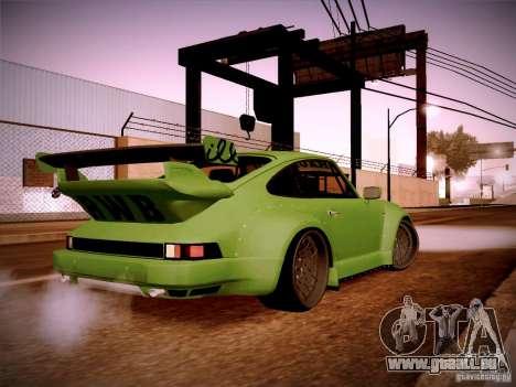 Porsche 911 Turbo RWB Pandora One für GTA San Andreas rechten Ansicht