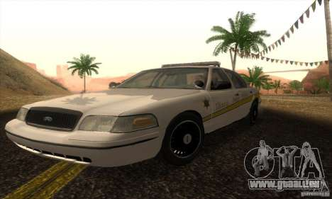 Ford Crown Victoria Illinois Police für GTA San Andreas