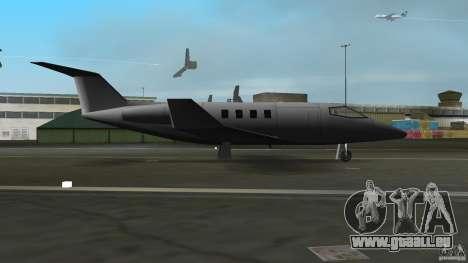 Shamal Plane für GTA Vice City zurück linke Ansicht