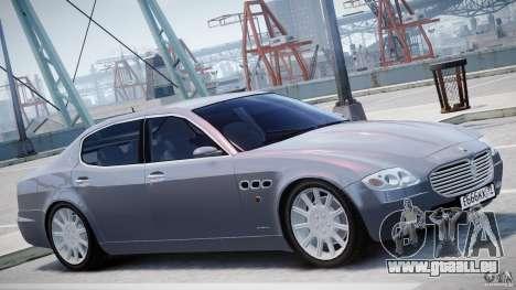 Maserati Quattroporte V für GTA 4