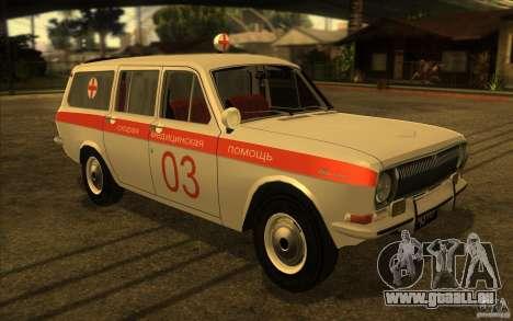 Ambulance Volga GAZ-24 03 pour GTA San Andreas