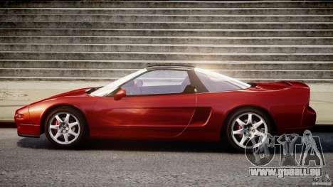 Acura NSX 1991 für GTA 4 Rückansicht
