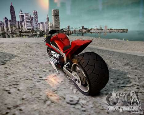 Drag Bike für GTA 4 linke Ansicht