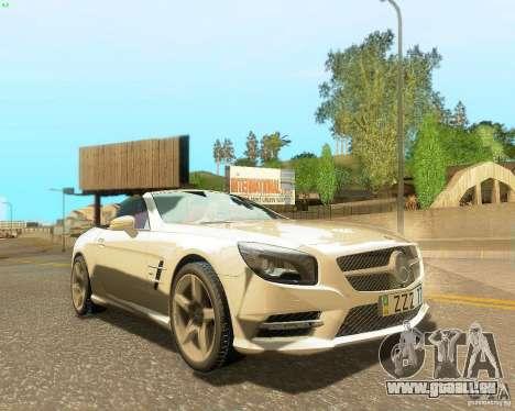 Mercedes-Benz SL350 2013 pour GTA San Andreas moteur